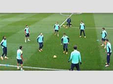Barcelona's El Rondo Passing Drill Soccer Training Lab