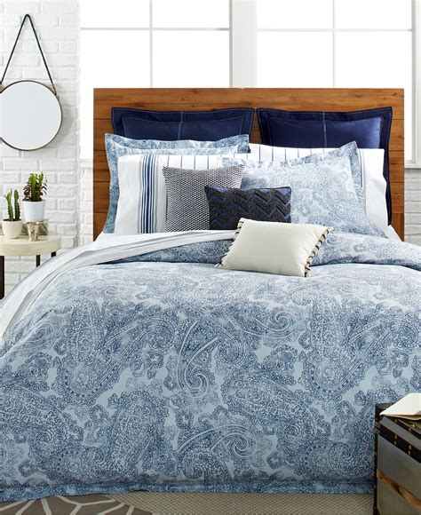 hilfiger paisley comforter and duvet cover sets bedding collections bed bath