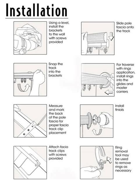 how to install traverse curtain rod memsaheb net