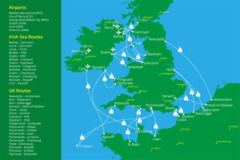 Ferry England To Ireland by Ferries To Northern Ireland Uk Europe Routes