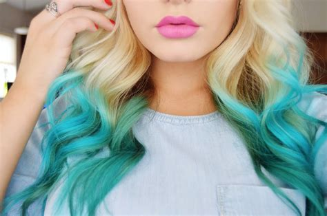 How To- Mermaid Hair Color |diy| Hairstyles For All Face Shapes Pictures Soft Curls Short Hair Casual Updo Thick With Side Bangs And Layers Quick Easy Braided Long Good Curly School Medium Length Blonde Guys