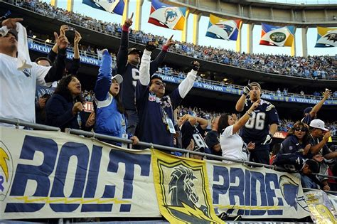 The San Diego Chargers And Afc West Playoff History