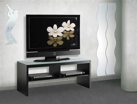 meuble tv noir en verre conforama photo 9 10 meuble tv gris noir pour un int 233 rieur zen et