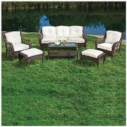 wilson fisher 174 cayman 6 seating set at big lots patio furniture