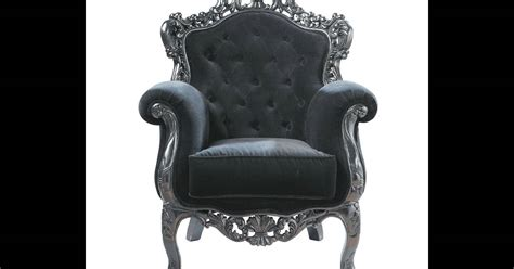 fauteuil maison du monde un tr 244 ne baroque 224 la maison pour jouer les reines du living room