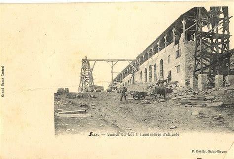 cantine port de salau avec attelage de boeufs pyrenees renovation project