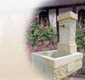 Basteltipps Für Den Garten : brunnen aus sandstein f r den garten ~ Markanthonyermac.com Haus und Dekorationen