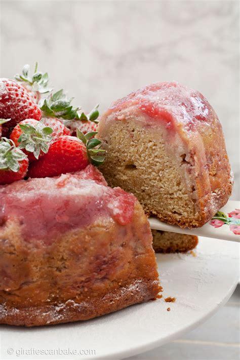 strawberry bundt cake strawberry cheesecake bundt cake giraffes can
