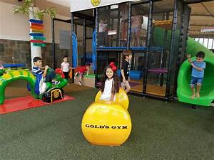 Gold's Gym Mission serves parents better with play area