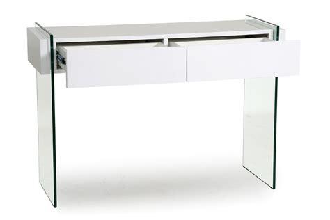 console blanc laque avec tiroir maison design hosnya