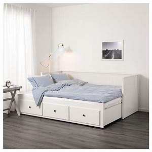 Ikea Metallschrank Weiß : hemnes ikea bett wei 140 200 cm tagesbett web ~ Markanthonyermac.com Haus und Dekorationen