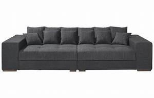 Couch Günstig Poco : big sofa loop schwarz online bei poco kaufen ~ Markanthonyermac.com Haus und Dekorationen