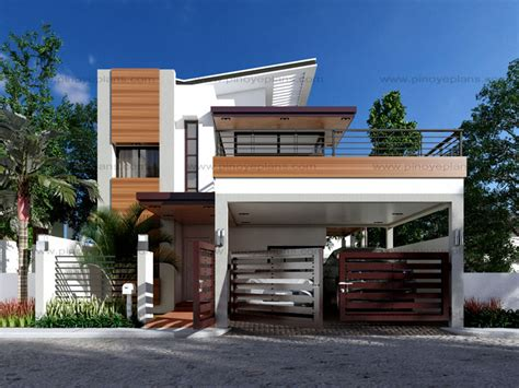 simple storey townhouse designs ideas modern house design series mhd 2014012 eplans