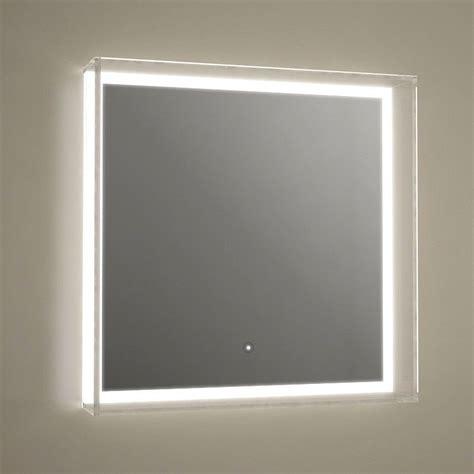 miroir salle de bain 60x60 cm 233 clairage led anti bu 233 e idlight glass