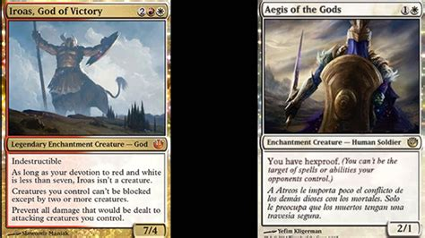 magic the gathering journey into nyx deck ideas