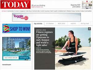 SURFSET on today's Today newspaper! - SURFSET Fitness ...