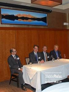 The panelists discuss recent trends in cancer research and ...