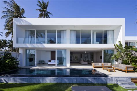 Beach House : Private Beach Villas Offer Spectacular Ocean Views And