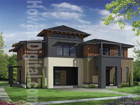 Home Design House Illustration Home Rendering Hardie