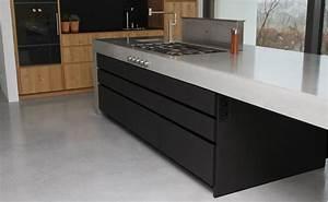 Küche Beton Holz : moderne betonk che kombiniert mit holz und elektroger ten von gaggenau k chenfinder magazin ~ Markanthonyermac.com Haus und Dekorationen