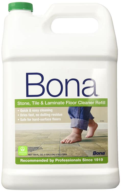 bona tile and laminate floor cleaner refill 128 ounce 128 ounces ebay