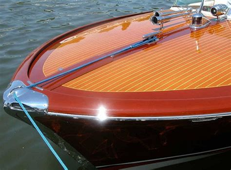 Bow Of A Boat In French by Riva Classic Boats Seabuddy On Boats