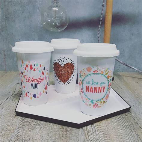 Personalised Eco Travel Mugs   SPATZ Mini Peeps®