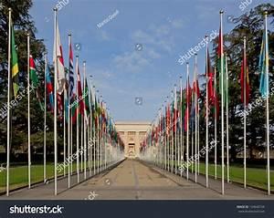 Geneva January 12 United Nations January Stock Photo ...