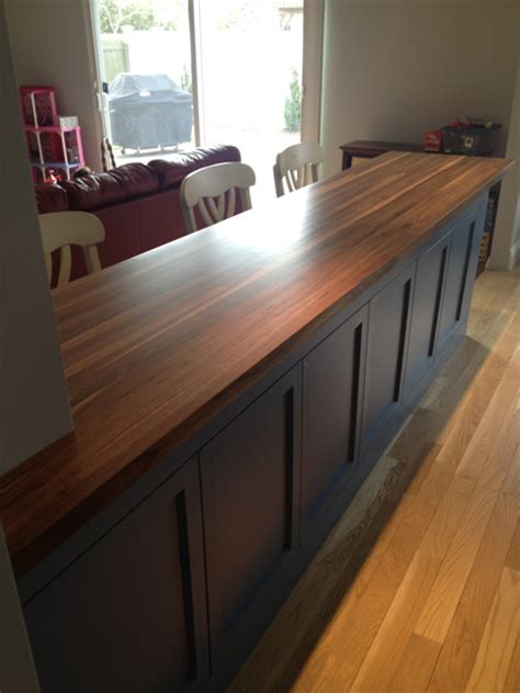 Walnut Butcher Block, Any Size, Quote And Order Online