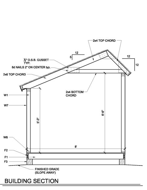 saltbox shed plans 12x16 how to build a shed roof