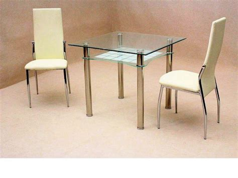 Small Glass Top Dining Table Sets — Doma Kitchen Cafe