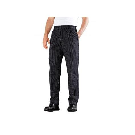 pantalon de cuisine 224 plis noir 233 funandoc de bragard