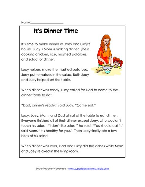 9 Best Images Of Second Grade Reading Comprehension Printables  Free 2nd Grade Reading