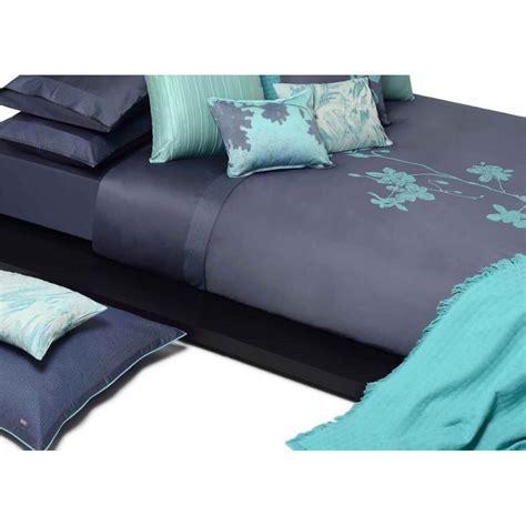 housse de couette mint et bleu batik chic par home concept
