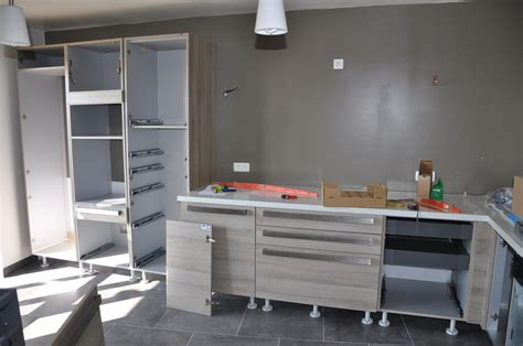 arriv 233 e et montage de la cuisine le de soso construction maison bois