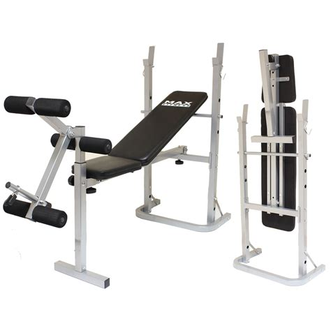 Max Fitness Folding Weight Bench Home Gymworkoutexercise