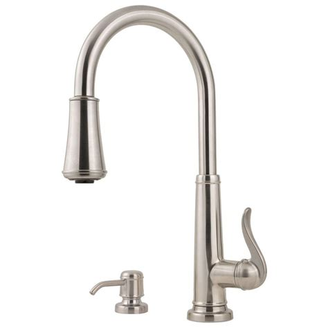 Pfister Kitchen Faucet Touchless by Pfister Ashfield Single Handle Pull Sprayer Kitchen