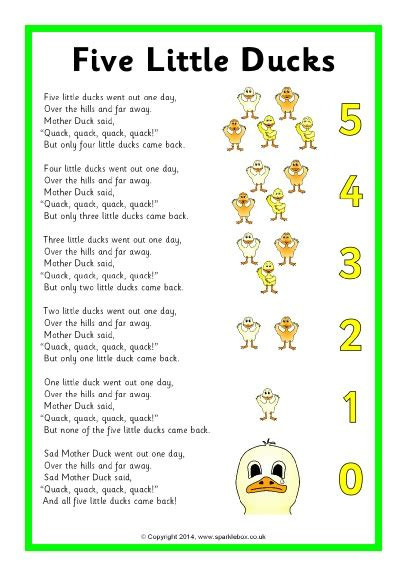 Row Row Row Your Boat Chinese Lyrics by Five Little Ducks Song Sheet Sb10843 Sparklebox