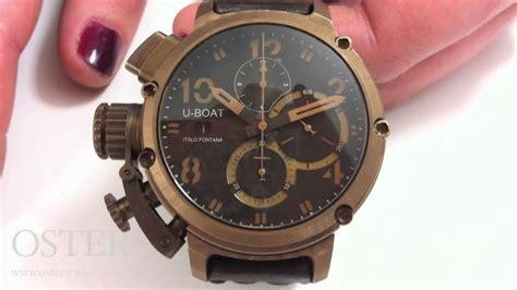 U Boat Watch Nz by U Boat U 51 Chimera Bronze Watch Doovi