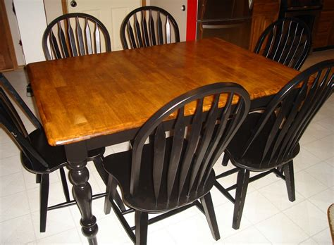 Better Together Refinishing A Kitchen Table, Part 2