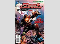 Red Lanterns #10 Two Lanterns Issue