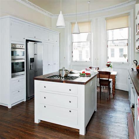 White Bespoke Kitchen  Bespoke Kitchen Designs  Ideal Home