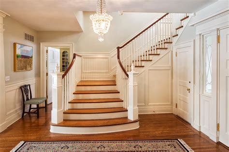Neoclassical Home-traditional-staircase-new York