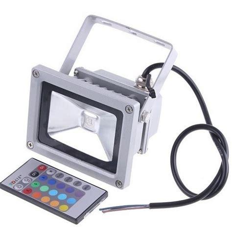 projecteur led ext 233 rieur rgb multicolore 10w