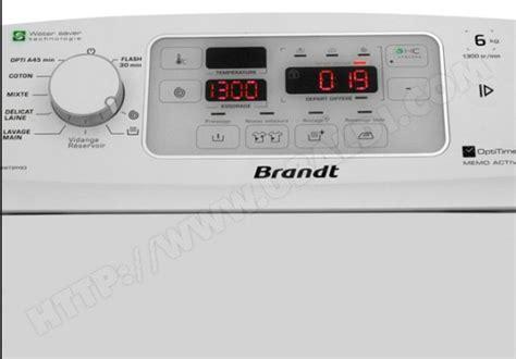 forum tout electromenager fr code d07 panne machine 224 laver brandt