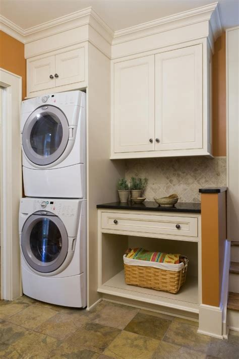 Mclean's Spanish Colonial Home Laundry Room Closet Spaces