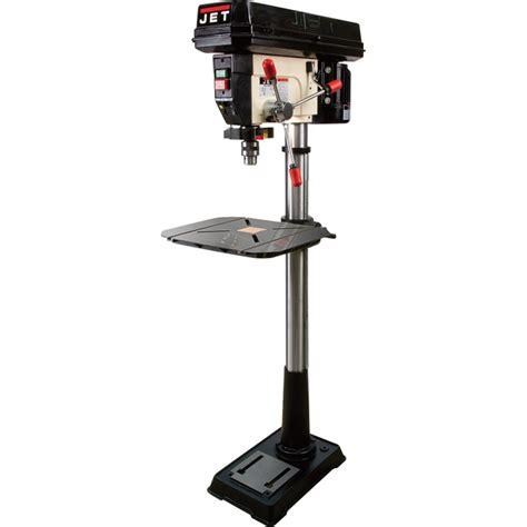 product jet floor drill press 17in 16 speeds 3 4 hp