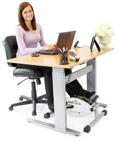 deskcycle desk exercise bike stay active at work 187 fitness gizmos