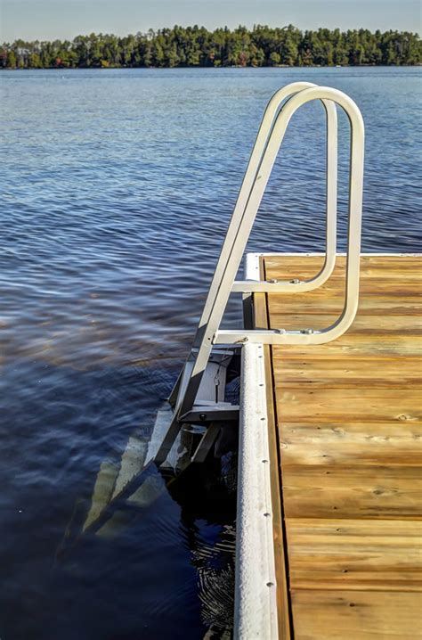 Dog Boat Rs Stairs by Dock Swim Ladders Canada About Dock Photos Mtgimage Org