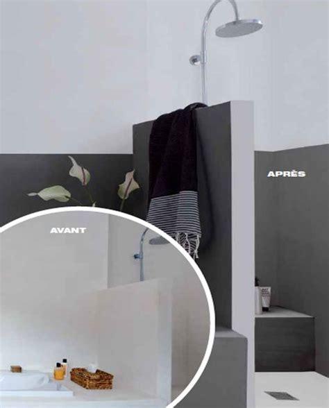 peinture pour salle de bain qui remplace le carrelage